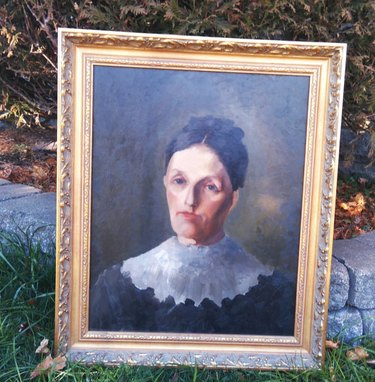 Vintage Paintings of Ladies With Resting Bitch Face You Can Get on Etsy