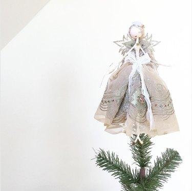 Christmas fairy tree topper Christmas Tree Topper Ideas