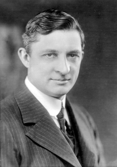 Willis Carrier, inventor of modern air conditioning, in 1915.