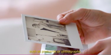 Use photographs and other memories in your drawer