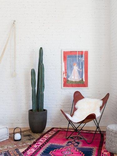 meditation room with desert vibes