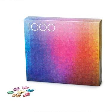 rainbow inspired puzzle
