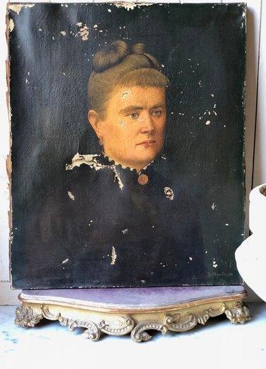 antique oil painting