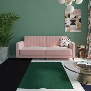 Nia sleeper in pink