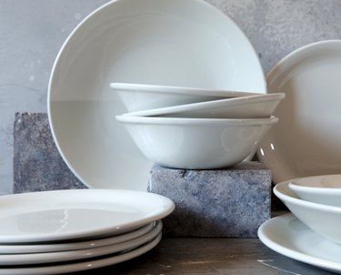Made In plateware collection
