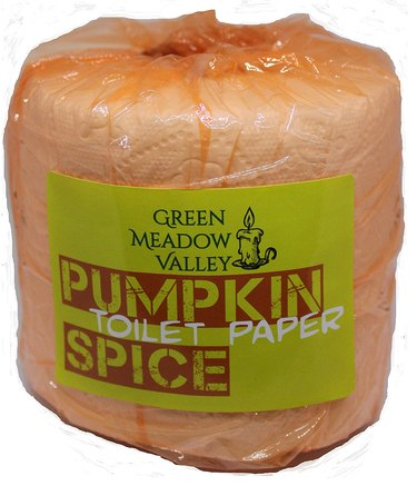 Green Meadow Valley Pumpkin Spice Scented Toilet Paper