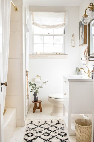 diy bathroom makeover with walmart products