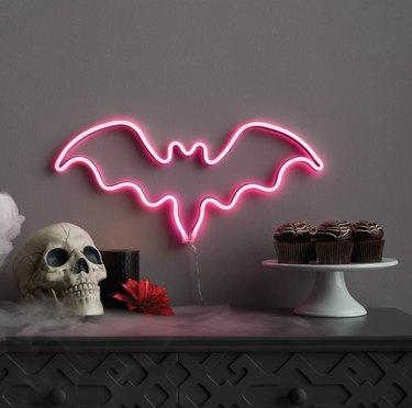 Bat Neon Light