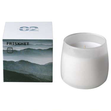 ikea scented candle