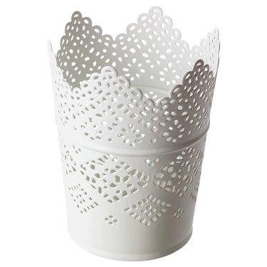 ikea white candle holder