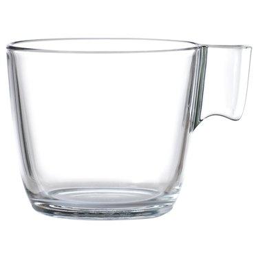 ikea glass mug