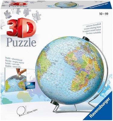 Ravensburger The Earth 540-Piece 3D Jigsaw Puzzle