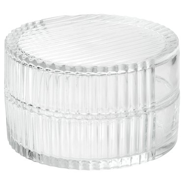 ikea glass box