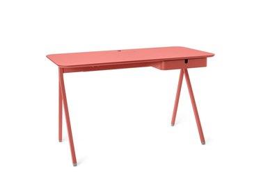 Poppin Brick Key Desk