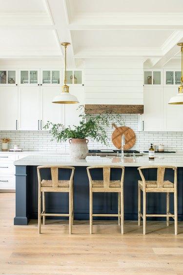 matte black kitchen hardware interiors
