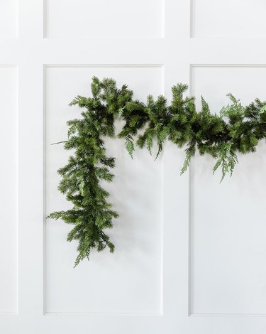 cedar and pine garland