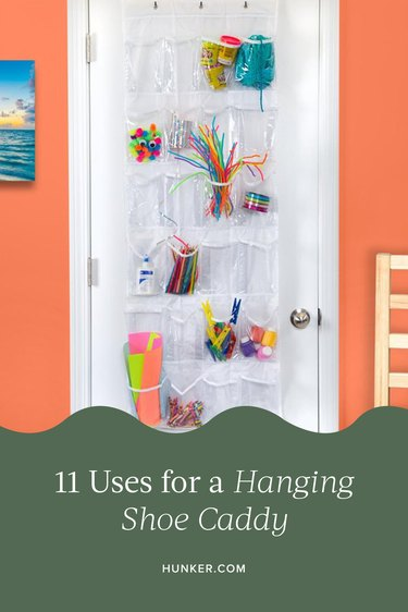 11 Uses for a Hanging Shoe Caddy