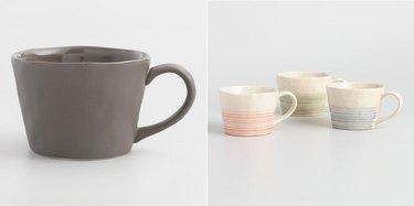 Stoneware Mugs from World Market