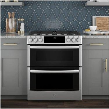 GE smart stove