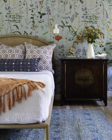 small bedroom pattern ideas