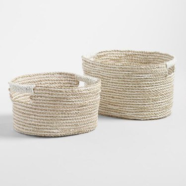 Seagrass Baskets from World Market