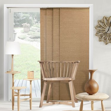 Chicology Privacy & Natural Woven Adjustable Sliding Panels, $141.22