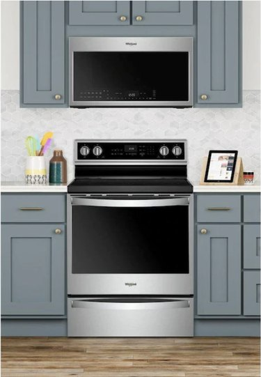 Whirlpool smart stove