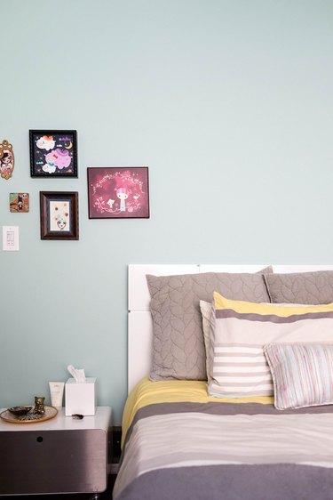 Leanna Lin and Luis Jaime bedroom