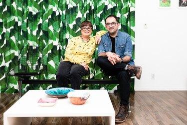 Leanna Lin and Luis Jaime