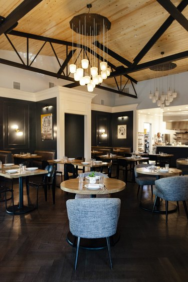 The newly renovated dining room at Canon, a restaurant in East Sacramento