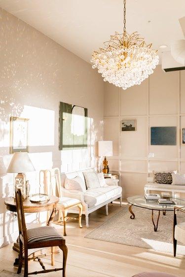 The bride's lounge