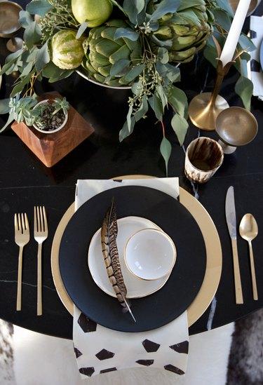 Beautiful Thanksgiving Table Settings