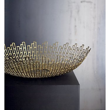 Midcentury Decorative Object - Crate & Barrel Sunburst Bowl
