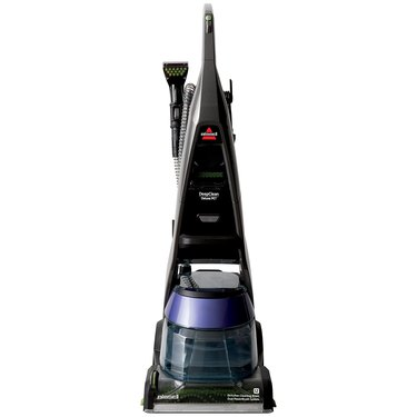 black carpet washer