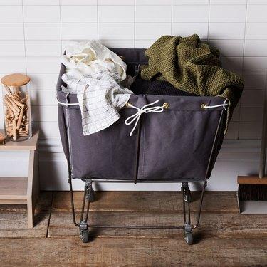 Steele Canvas Basket Corp Elevated Laundry Basket