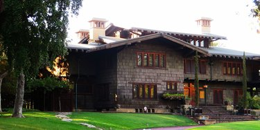 Gamble House as seen from the outside