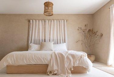 Minimal desert bedroom