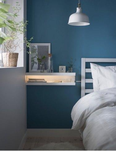 Ikea Decor Hack: Mosslanda picture ledge makeover