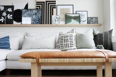 Ikea Decor Hack: Skogsta bench makeover