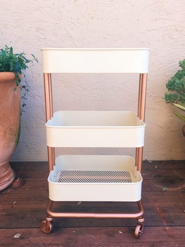 Ikea Decor Hack: Raskog rolling cart makeover