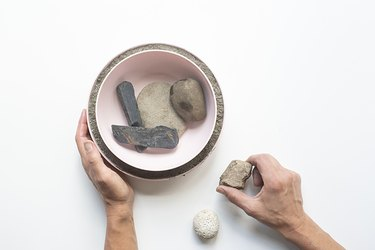 how to make a concrete bowl
