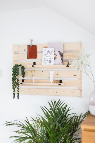 ikea wall shelf hack