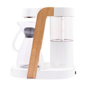 White Kitchen Appliances: Ratio Eight Coffee Maker
