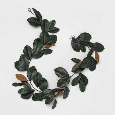 artificial green garland