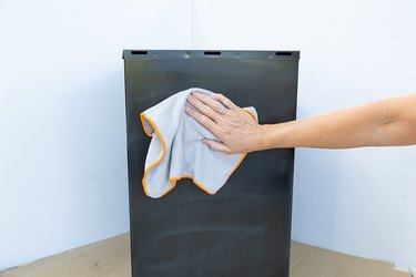 how to paint a filing cabinet