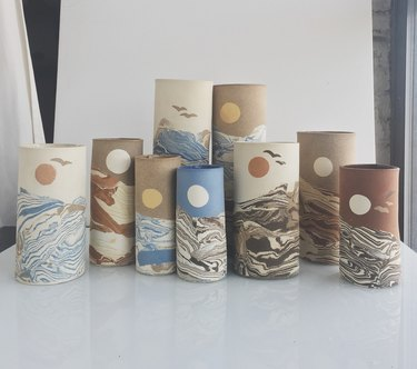 IIIVVVYYY Handcrafted ceramic vessels