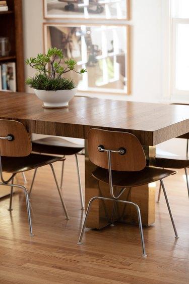 Milo Baughman dining room table