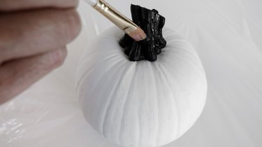 Mud Cloth Pumpkins DIY