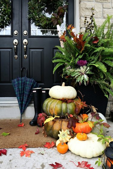 outdoor fall decorating ideas for front porch