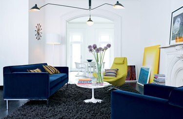 Serge Mouille Three-Arm Ceiling Lamp